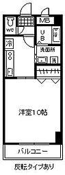 WEST・5[302号室]の間取り