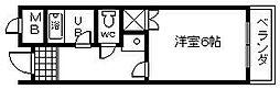 コートTAKUMI[3階]の間取り