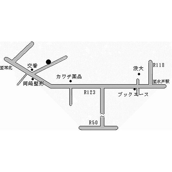 ラ・フォンテーヌA棟 2階の賃貸【茨城県 / 水戸市】