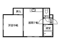 T・HOUSE[2階]の間取り