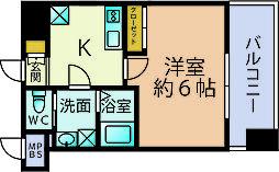 サヴォイエクセルシオール(1202)[12階]の間取り