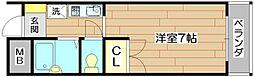 メゾンエルアンドジョイ[1階]の間取り
