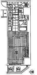 ファーストステージ東梅田[9階]の間取り