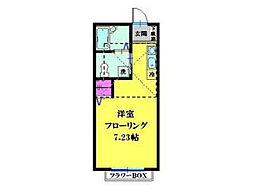 ルシエル横浜南[103号室]の間取り