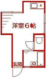 たかせハイツ[1階]の間取り