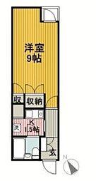湘南パークサイド[9階]の間取り