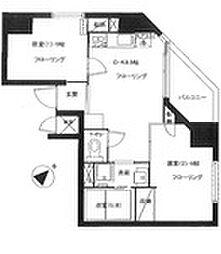 セイコーガーデンXI大塚[705号室]の間取り