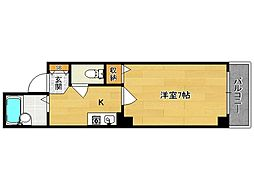 シャトーマサII[303号室]の間取り