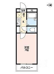 フローライト関大前[2階]の間取り