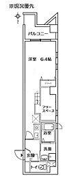プレジール(茅ヶ崎中央)[601号室]の間取り