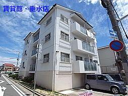 兵庫県神戸市垂水区馬場通の賃貸マンションの外観