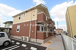 岡山県岡山市南区福成1の賃貸アパートの外観