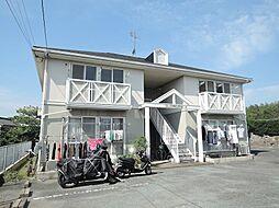 福岡県中間市大字上底井野の賃貸アパートの外観