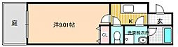 レジデンスK・I[2階]の間取り