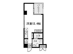 阪神本線 魚崎駅 6階建[6階]の間取り