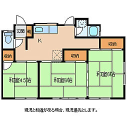 片桐貸家1・2号[1階]の間取り
