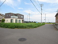 南西側道路含む現地写真