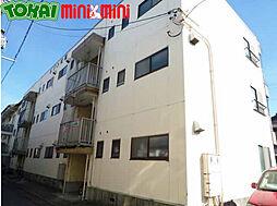 三重県松阪市清生町の賃貸アパートの外観
