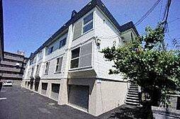 北海道札幌市西区八軒十条東1丁目の賃貸アパートの外観