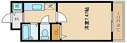 サンリゾート21[1階]の間取り