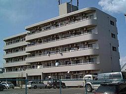 群馬県伊勢崎市富塚町の賃貸マンションの外観