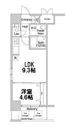コンフォリア新大阪[9階]の間取り