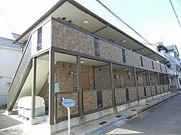 京都府向日市寺戸町東田中瀬の賃貸アパートの外観