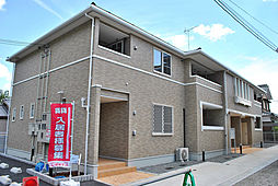 京都府八幡市八幡今田の賃貸アパートの外観