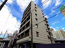 千葉県松戸市新松戸4丁目の賃貸マンションの外観