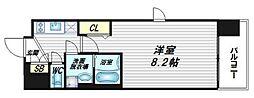 グランカリテ日本橋[4階]の間取り
