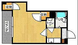 第1サンピア[4階]の間取り