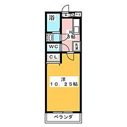 ハイツフレンド上福島[1階]の間取り