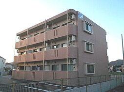 岡山県総社市井尻野の賃貸マンションの外観