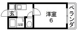 高井田ル・グラン[202号室号室]の間取り