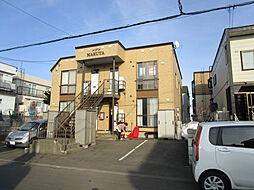 北海道札幌市北区篠路九条4丁目の賃貸アパートの外観