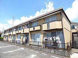 埼玉県越谷市瓦曽根3丁目の賃貸アパートの外観