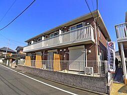 東京都足立区入谷5丁目の賃貸アパートの外観