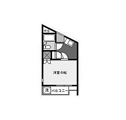 ノーブル新百合[2階]の間取り