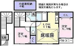 ラックハイム[2階]の間取り