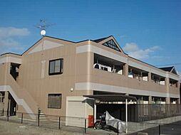 愛知県一宮市浅井町小日比野字山畑の賃貸アパートの外観
