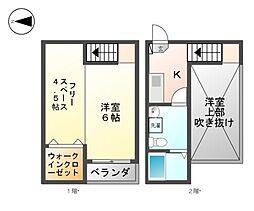 Grandole志賀本通I・II[2階]の間取り