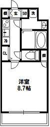 プロシード大阪西バロンドール[306号室]の間取り