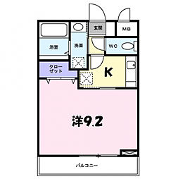 秋津州 Kobe[1階]の間取り