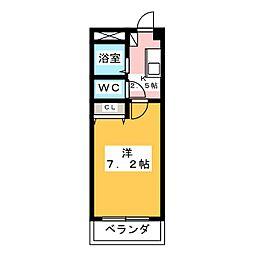 トリコロールハウス加藤[3階]の間取り