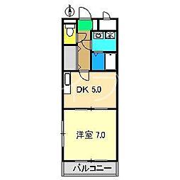 ボヌール・ヒル[3階]の間取り