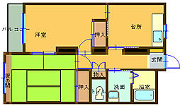 コートビレッジ上田[1階]の間取り