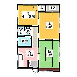 [一戸建] 栃木県宇都宮市宝木本町 の賃貸【/】の間取り