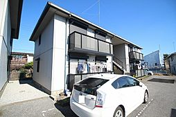 栃木県鹿沼市東町3丁目の賃貸アパートの外観