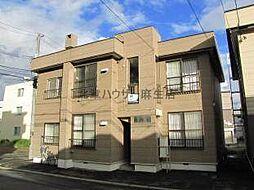 北海道札幌市北区新琴似七条1の賃貸アパートの外観