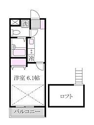 サザンパーク吉祥寺[3階]の間取り